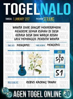 Bolak Balik 3D Togel Wap Online Live Draw 4D TogelNalo Serang 1 Januari 2017