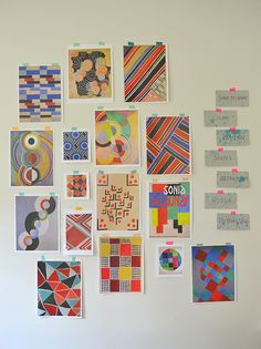 Sonia Delaunay Painting for Kids