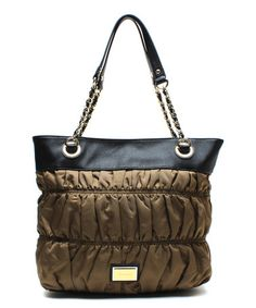 Another great find on #zulily! Dark Brown Steffy Tote by Juicy Couture #zulilyfinds