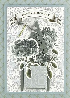 HSN May 9th, 2017 Product Preview 3   Anna's Blog - Trelliage Dies and Folders, 5 cut and emboss dies that feature a trellis, a gate and French planter boxes