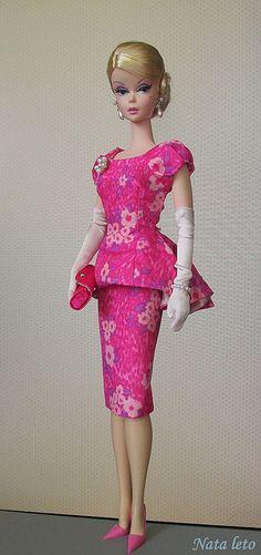 Fashionably Floral Silkstone Doll | por Nata-leto