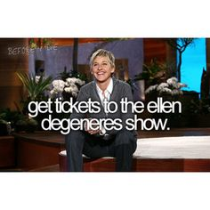 how to see ellen live