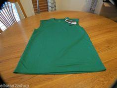 Men's ADIDAS active performance shirt large NEW climalite sleeveless vivid green