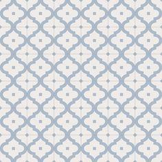 Serie de pavimento Maori en formato 20X20 cm., fabricada en porcelánico con acabado tipo hidraulicos.