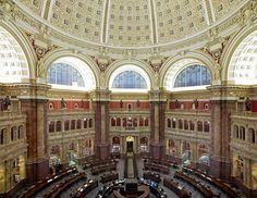 Read a book in the Library of Congress