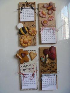 Preciosos para calendarios o anotadores