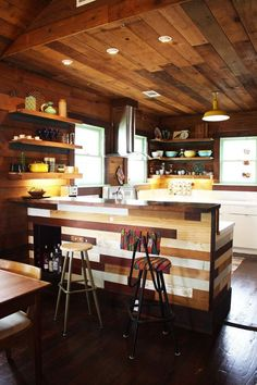 We'd totally cook up a storm in this kitchen.