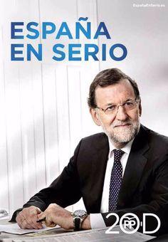 Cartel Mariano Rajoy, PP, elecciones generales 2015