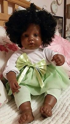 Adora Baby Doll Spreading Love & Joy African American Black For Reborn or play