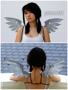 Steampunk Mechanical-Look Wings - Only $29.99