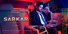 Sarkar is a political thriller, directed by Murugadoss. Today on the occasion of Vijay's birthday, the makers released the second look poster. Hindi Movies, Telugu Movies, Latest Movies, New Movies, Movies Online, Tamil Songs Lyrics, Song Lyrics, Motion Poster, Vijay Actor