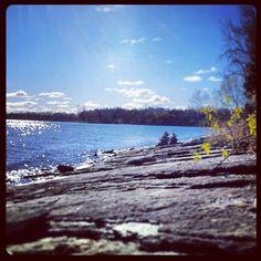 Gorgeous late autumn day at Massassauga Point, Prince Edward County - photo courtesy of countytshirts.ca