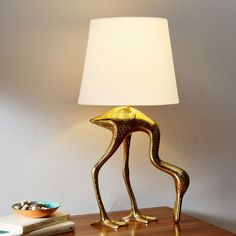 Rachel Kozlowski Spoonbill Table Lamp   west elm