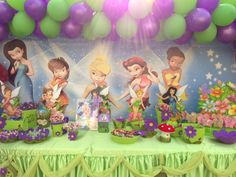 """Photo 24 of 24: Tinkerbell & Fairies / Birthday """"Dhabya 3rd party""""   Catch My Party"""