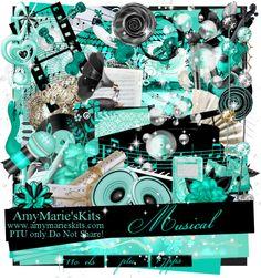 Musical [AM_Musical] - $1.25 : AmyMaries Kits