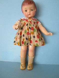 "All Original 19"" Effanbee Patsy Ann Doll Patent #1283558"