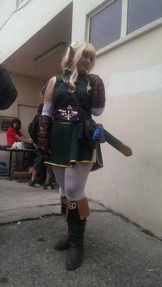 Princess Zelda the Warrior by Sensee Cosplay at ICON