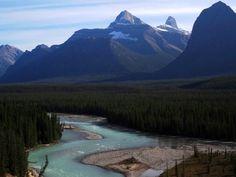 Jasper Banff Park Ice-Highway, Ahtabasca River Banff, Jasper, Ice, Mountains, Park, Nature, Travel, Voyage, Parks