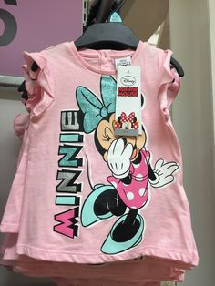 Tesco Girls SS16 Girls Summer Outfits, Outfits For Teens, Boy Outfits, Bff Girls, Disney Girls, Disney Shirts For Family, Shirts For Teens, Girls Sportswear, Minnie