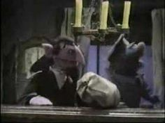 The Count counts letters to himself - Classic Sesame Street - YouTube. Freakin love how excited he gets hahaha