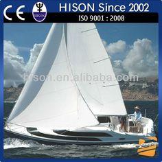 Hison 26ft Sailboat antique model outboard motor sailing boat model $25000~$35000