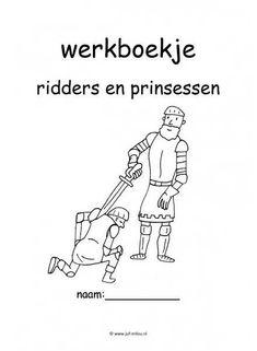 Werkboekje ridders en kastelen voorkant thema ridders for Werkbladen ridders en kastelen