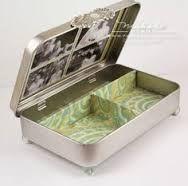 Caja alterada metálica