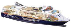 Color Magic - ein richtiges Kreuzfahrtschiff mit Autodeck