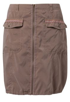 Betty Barclay Puffball skirt brown