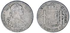 8 SILVER REALES / 8 REALES PLATA. CHARLES IV - CARLOS IV. POTOSÍ 1799. VF-/MBC-.
