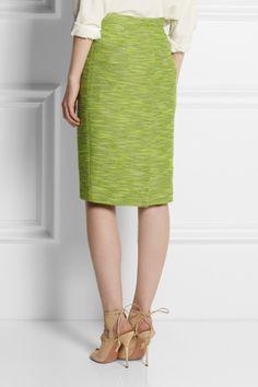 Etro Cotton-blend tweed pencil skirt NET-A-PORTER.COM