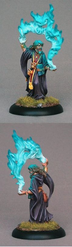 Reaper Dark Heaven - Aaron the Conjurer. Painted by Paintingraven