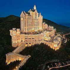 Hotel in #China Dalian the most expensive hotel in the world!!!