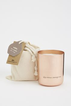 Cuivre Sable Soy Candle
