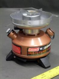 There are 8 of these Coleman Co Inc. Multi-Fuel Stoves. They're Model # 550B749, Single Burner, Designed for Use with Naphtha Fuel, Kerosene and Unleaded Gasoline with a 10.3 Oz Fuel Capacity- On Government Liquidation