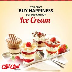 Start your week with lots of Happiness and tasty delights from Chit Chat Food  http://www.chitchatindia.net/ | 93853 88800  #ChitChat #ChitChatFood #IceCream #Cakes #Cookies #Pizza #Puffs #Cupcakes #Beverages #Milkshakes #Icecreams