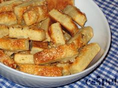 egycsipet: Sajtos rúd Hungarian Cuisine, Hungarian Recipes, Hungarian Food, Savory Pastry, How To Make Jam, Best Food Ever, Polish Recipes, Freezer Meals, Finger Foods