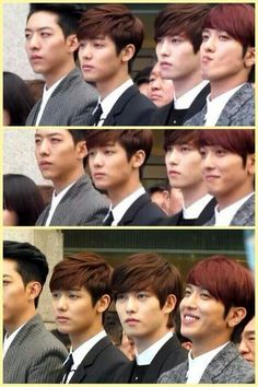 CNBLUE-  my gosh Yonghwa and his face :D