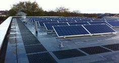 Solar Installations installed by PrimeSeal - Full Service Commercial Flat Roofing