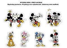 Muffinki w stylu Myszki Miki :)