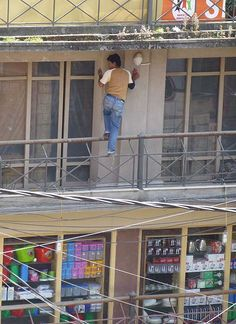 Health and Safety rules are not quite the same here