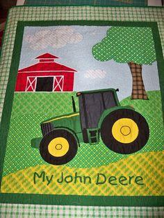 A Quilting Sheep: John Deere quilt
