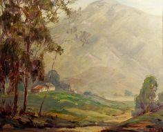 "Thomas Ewing King ""Tucked Away"" 20x22 Oil on Canvas"