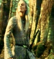 RotK deleted scene when Legolas returns to Mirkwood, which no longer has the shadow of evil hanging over it.