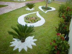 Modelo jardim decorativo