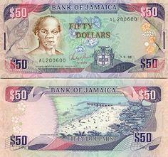 Jamaican Dollar Currency ... $50 bill