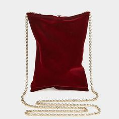 Designer Clothes, Shoes & Bags for Women Anya Hindmarch Handbags, Red Clutch, Red Handbag, Red Purses, Flocking, Fall Winter, Autumn, Bag Accessories, Shoe Bag
