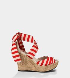UGG® Lucianna Stripe for Women | Free shipping at UGGAustralia.com