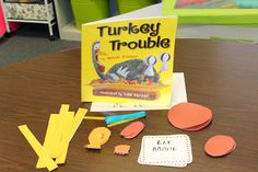 Making protesting turkeys, much like the chick fil a cows, to go along with the book Turkey Trouble. Activity is great for shape reinforcement, following directions, and fine motor control.