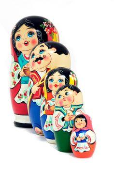 Welcome to Brighton Beach Mug New York Souvenir Russian Matryoshka Nesting Doll